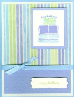 Happy Moments Resist Card - stripes (2)