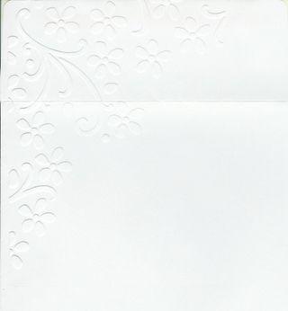 Embossed Envelope - Pretty Petals full (2)