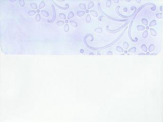 Embossed Envelope - Pretty Petals inked (2)