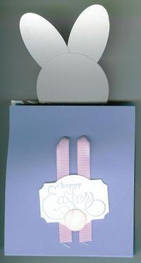 Bunny Window treat bag - tail view (2)