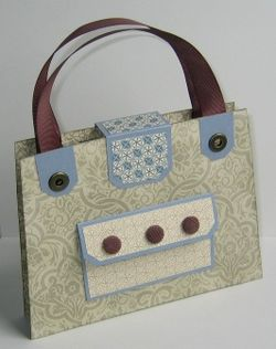 Nancy's Purse Gift Set - purse back