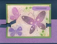 Garden Whimsey - Elegant Eggplant Butterflies (2)