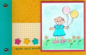 Beary Best Brag Book - flower girl (2)