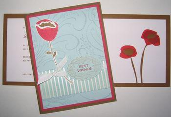 Devin Shower Card & invitation