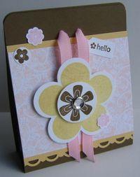 Peek-a-boo Treat Bag - Fancy Flower
