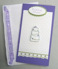 Linda - bride card
