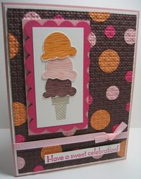 Sweet scoops embedded circles - vertical