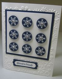 Serene snowflakes columns - carmen