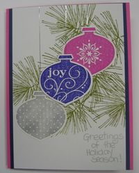 STamp Club sept 2010 - peggy trio ornament card