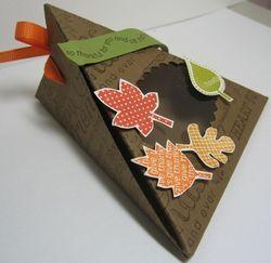 Triangle box falling leaves - 2