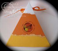 Triangle box candy corn - samantha parisi