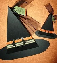 Triangle box witch hat - sincerely babette