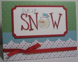 Big on christmas CE - snow