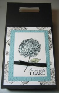 Because I Care card box - darla