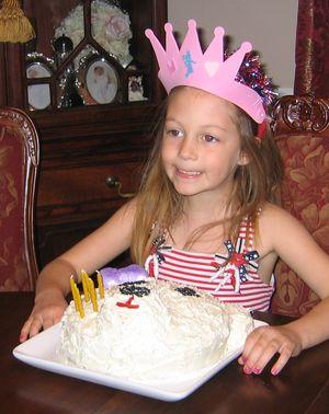 Allison polar bear cake