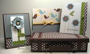 Becky Roberts - Sweet Pea Scrap Cards