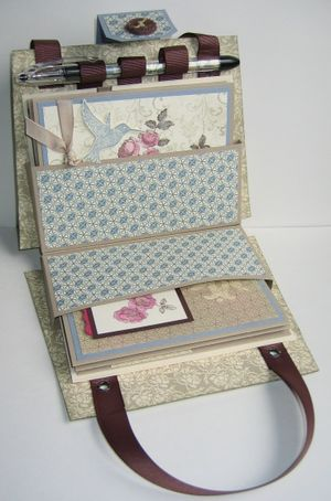 Nancy's Purse Gift Set - open full