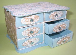 Top Note Match Box Dresser