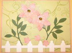Shirley Meyer - cottage wall 5 petal punch