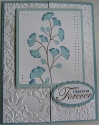 Scott & Devin's wedding card