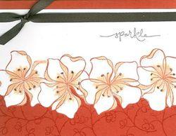 Embrace Life flower border - horizontal