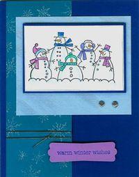 More The Merrier snowmen