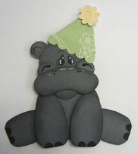 Carmen - sad birthday hippo