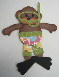 Carmen - surfer bear