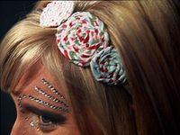 Sara - headband flowers
