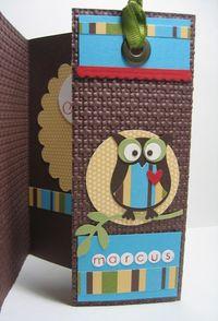 Marcus owl - bookmark