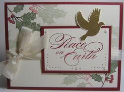 Peaceful season - pierce & pearls