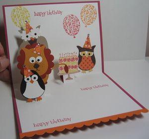 Maggie - Owl Birthday Party inside 1