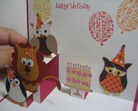 Maggie - Owl Birthday Party inside 2