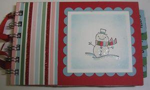 Christmas list notebook - carmen