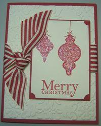 Michelle - glitter ornaments