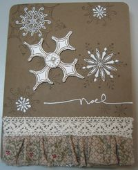 Darla or michelle - serene snowflakes