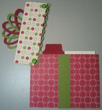 Carmen - present gift holder jolly open
