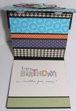 Dawn's birthday card 2011 - inside