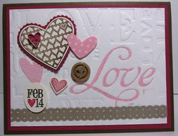 Love Letterpress collage 1