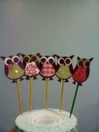 Darla - owl toppers