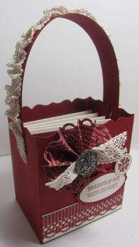 Filled With Love Notes Basket