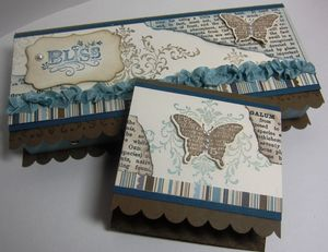 Bliss box  - suede set