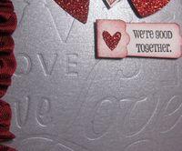 Silver love closeup