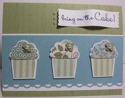 Springtime vintage cupcakes h