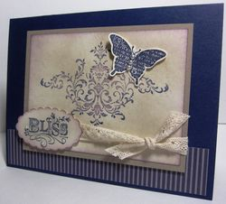 Concord Bliss card - pearls