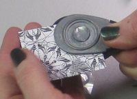 Bracelet - punch paper