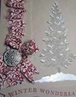 Winter Pine closeup