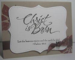 Darla - christ is born
