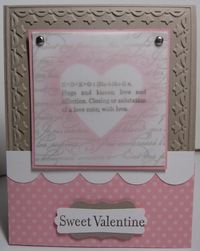 Sweet valentine - xoxo