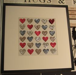 Swaps - glitter hearts